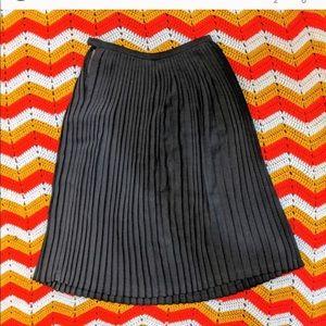💎 🌸 Anne Klein 🌸 💎 vintage pleat midi skirt